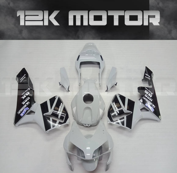 Nardo Grey Black Fairing Kit Fit HONDA CBR600RR CBR600 2003 2004