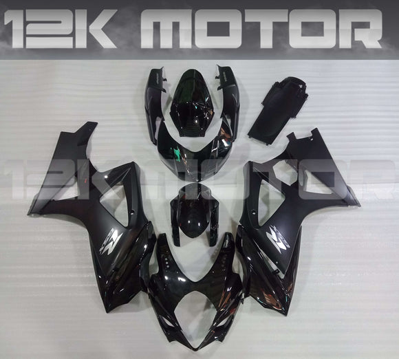 Black Design Fairing Kit for SUZUKI GSXR 1000 2005 2006