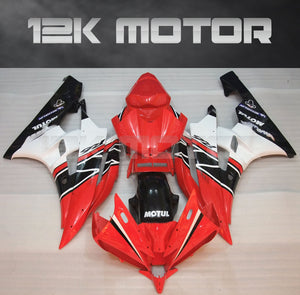 Red Fairing Kit fit for Yamaha R6 2006-2007 Aftermarket Fairing Kits