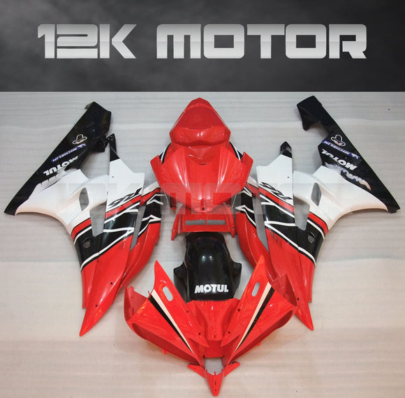 R6 2006 2007 Red Fairing Kit