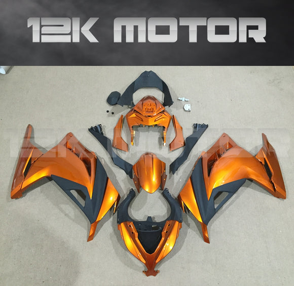 Golden Black Fairing Kit For Ninja 300 Fairings 2013 2014 2015 2016 2017 Aftermarket