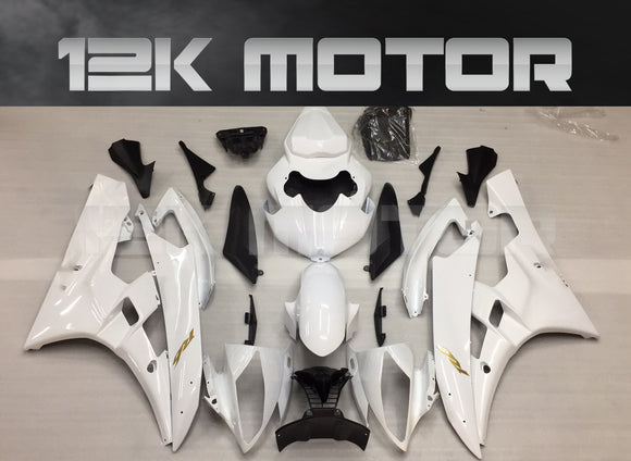 YZF R6 Fairings 2006 2007 White Fairing Kit Set