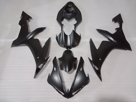 ---AU STOCKING---Fit Yamaha YZF-R1 R1 2004 2005 2006 Matt Black Fairing Kit