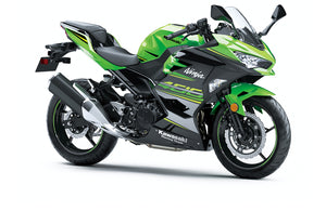 Buy KAWASAKI Ninja 400 Fairing Kit 2018-2019 Green Fairings $680.00 Windscreen Black Matching Tank Cover & Rear Seat Cowl No Thanks - MOTORCYCLE FAIRING | 12K MOTOR