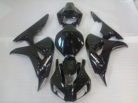 ---AU STOCKING---All Black Fairing Kit for Honda CBR1000RR 2006 2007