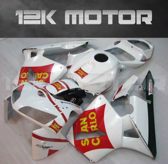 San Carlo White Fairing Kit Sets Fit for HONDA CBR600RR 2005 2006 Aftermarket Fairing Kit