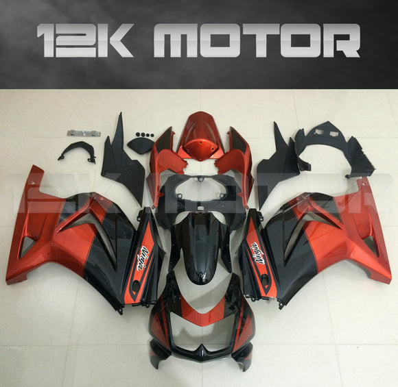 Red Black Fairings for Ninja 250R EX250 2008 - 2012