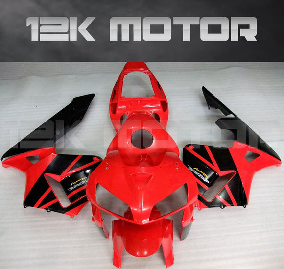 Red Black Fairing Kit Sets Fit for HONDA CBR600RR 2005 2006 Aftermarket Fairing Kit