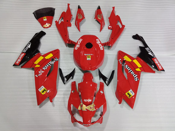 ---AU STOCKING--- Aprilia RS125 2006 - 2012 Red Fairing Kit
