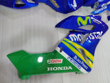 ---AU STOCKING---Fit Honda CBR1000RR 2004 2005 Movistar Fairing Kit