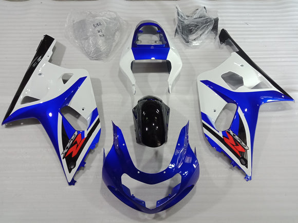 ---AU STOCKING---Blue White Fairing Kit For Suzuki GSX-R 600 GSX-R 750 2000 2001 2002 2003
