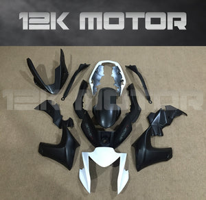 Black Aftermarket Fairing Kit Fit KAWASAKI 2010 - 2015 ER6N