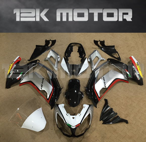 Black and Sliver Fairing Kit Fit for KAWASAKI Ninja 650 2012 - 2016 Aftermarket Fairing Kit
