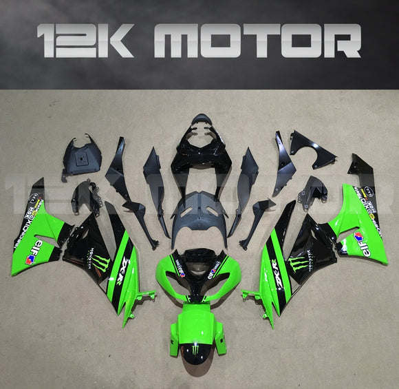 Green Color Aftermarket Fairing Kit fit 2009 to 2012 ZX-6R