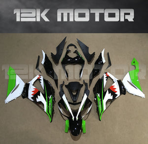 Shark Design Aftermarket Fairing Kit fit 2013 to 2018 ZX-6R