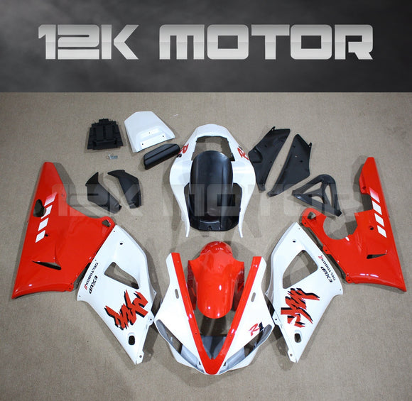 Red White Fairing For Yamaha R1 2000 2001 Aftermarket Fairing Kit