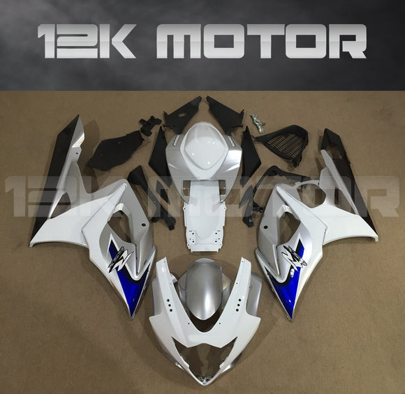 White Fairing Kits Fit for SUZUKI GSXR 1000 2005 2006 Aftermarket Fairing Kit