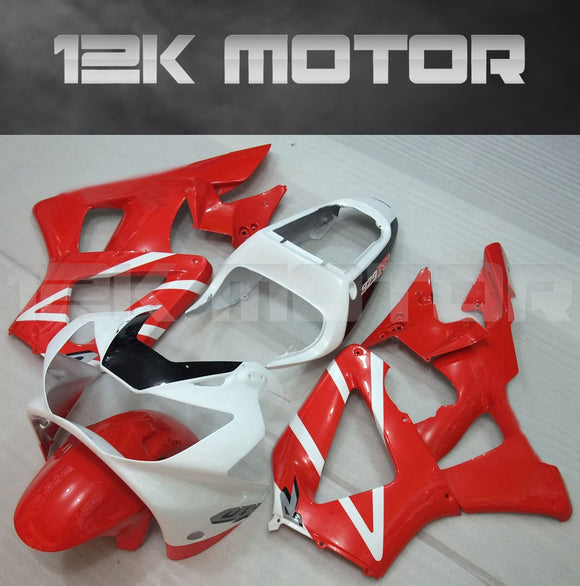 Red and White Fairing fit for HONDA CBR929RR 2000 2001 Aftermarket Fairing Kit