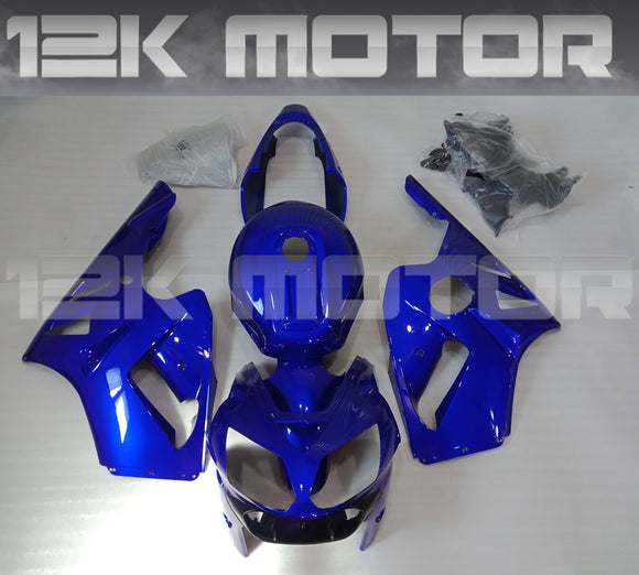 Blue Fairing Kit For KAWASAKI ZX12R 2002 2003 2004 2005 2006