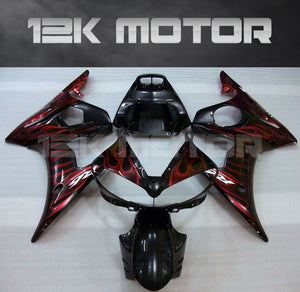 Red Flame Fairing  fit for Yamaha 2003 2004 2005 R6  Fairing Kits