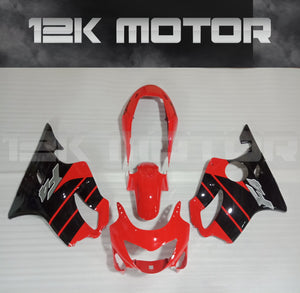Black Red Fairing kits Fit for HONDA CBR600RR F4 1990 2000 Aftermarket Fairing Kit