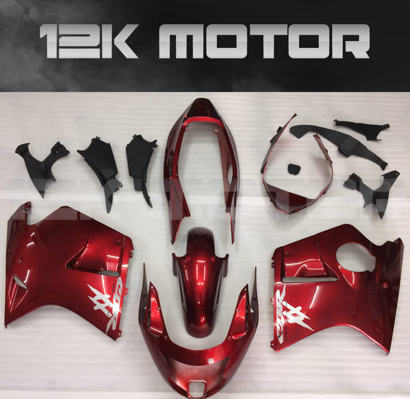 Red Fairing fit for HONDA CBR1100XX Blackbird 1996 - 2007 Aftermarket Fairing Kit