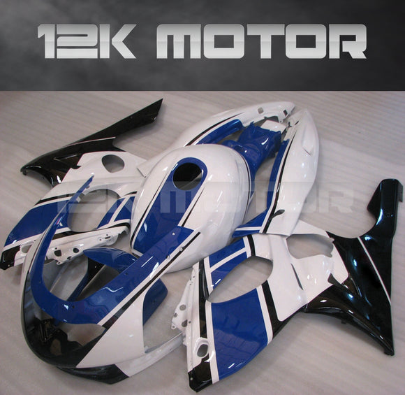 Blue White Fairing Kit fit for YAMAHA YZF600R Thundercat 1997-2007