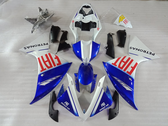 ---AU STOCKING---FIAT Design Fairing Kit For Yamaha R1 2013 2014