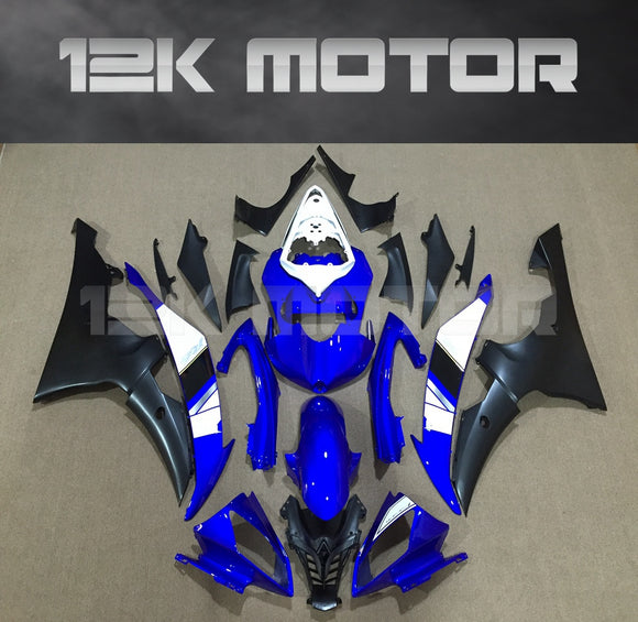 ---AU STOCKING--- Blue White Fairing Kit For Yamaha YZF-R6 R6 2008-2016