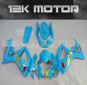 RIZLA Fairing Fit For SUZUKI GSXR 600/750 2006 2007 Aftermarket Fairing Kit