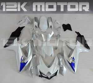 Silver Blue Fairing Fit for SUZUKI GSXR 600/750 2008-2010 Aftermarket Fairing Kit
