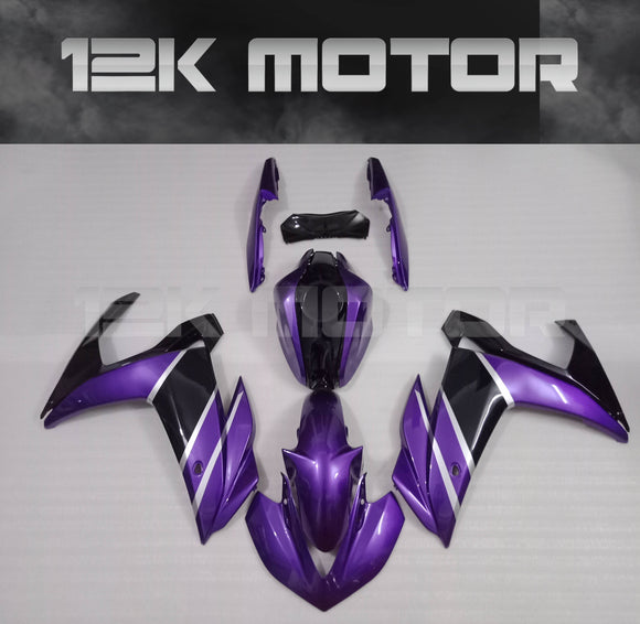 Purple Fairing Kit For Yamaha R3 2015 2016 2017 2018