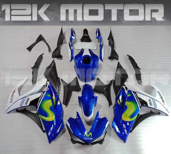 Movistar Scheme R3 Fairing Kit For Yamaha 2015 2016 2017 2018 R3
