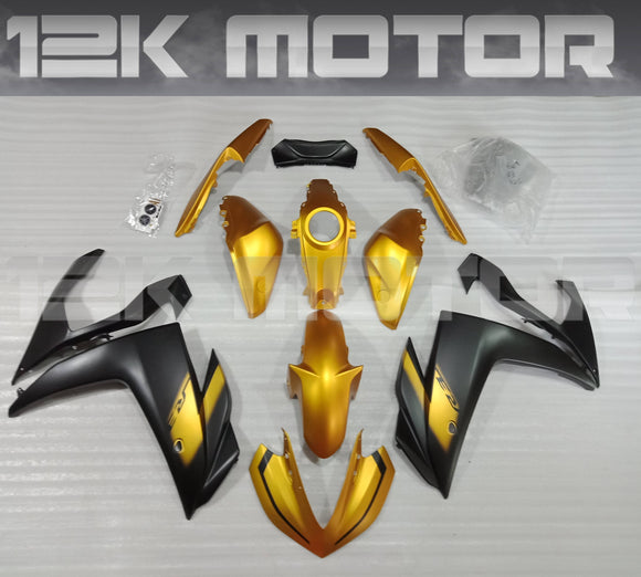Black Gold R3 Fairing Kit For Yamaha 2015 2016 2017 2018 R3
