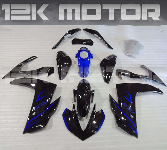 Black Blue R3 Fairing Kit For Yamaha 2015 2016 2017 2018 R3