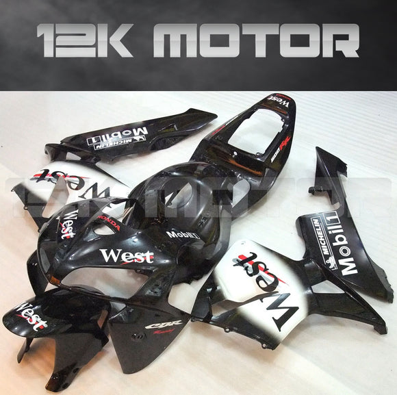 WEST Black White Fairing Kit Sets Fit for HONDA CBR600RR 2005 2006 Aftermarket Fairing Kit