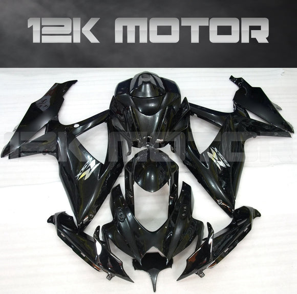 Gloss Black Fairing Fit for SUZUKI GSXR 600/750 2008-2010 Aftermarket Fairing Kit