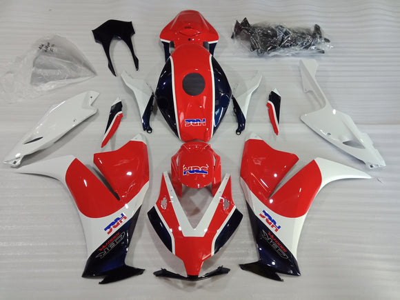 ---AU STOCKING---Tri Color Fairing kit For Honda CBR1000RR 2012-2016