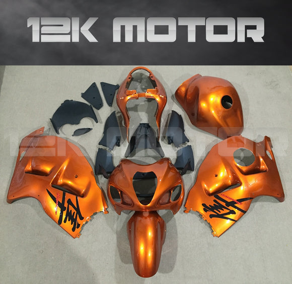 Bright Orange Fairing kits for SUZUKI Hayabusa GSX1300R Fairings 1999-2007