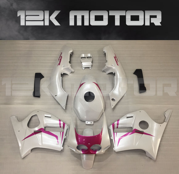 HONDA CBR250RR fairings MC19 fairing kits 1988 1989 Pink Fairing set