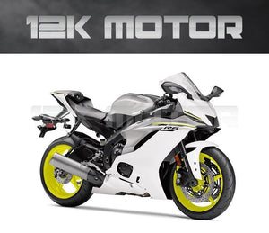 White Fairing fit for Yamaha R6 2017-2020 Aftermarket Fairing Kits