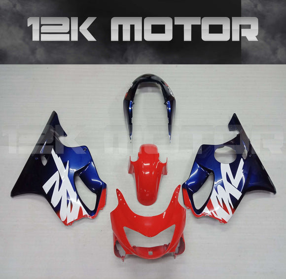 Black Red design Fairing kits Fit for HONDA CBR600RR F4 1990 2000 Aftermarket Fairing Kit
