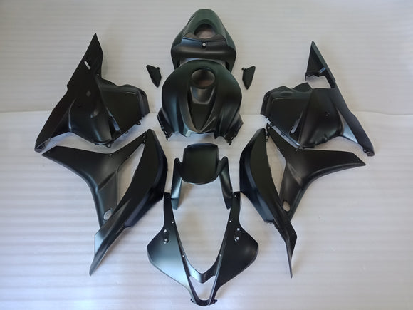 ---AU STOCKING---All Black Fairing Kit Fit Honda CBR600RR 2009 2010 2011 2012