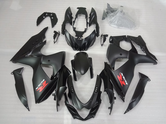 ---AU STOCKING---Matt Black Fairing Kit For Suzuki GSXR GSX-R 1000 2009 - 2016