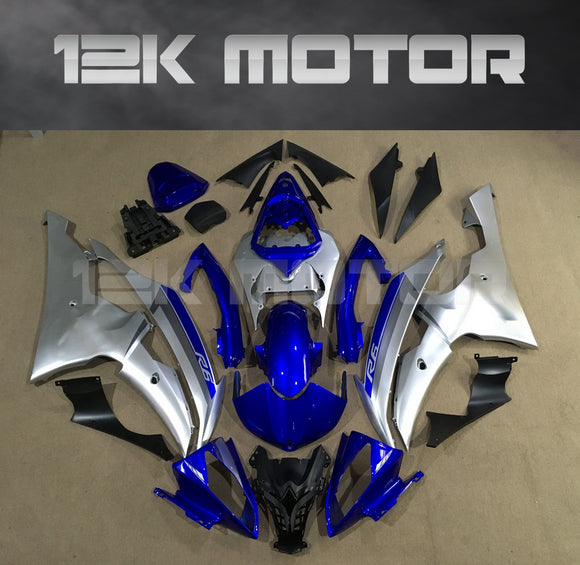Blue and Silver Fairingfit for Yamaha R6 2008-2016 Aftermarket Fairing Kits