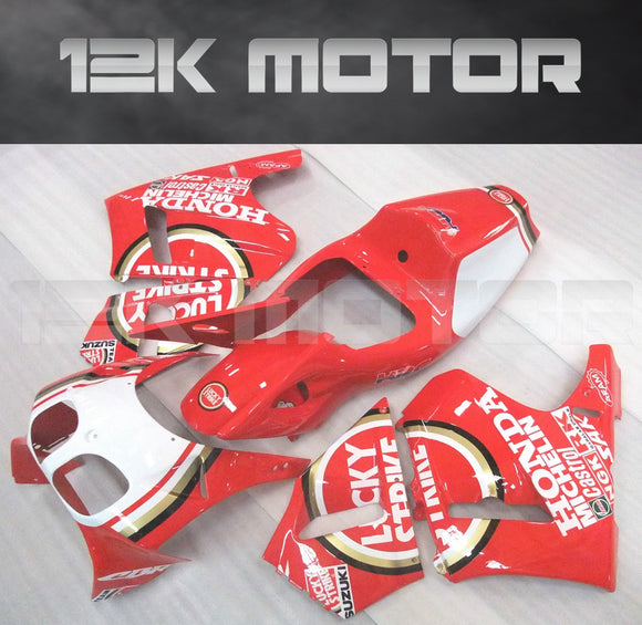 Red Fairing Kit Fits HONDA VFR 400 R NC30 1989 - 1993 Aftermarket Fairing
