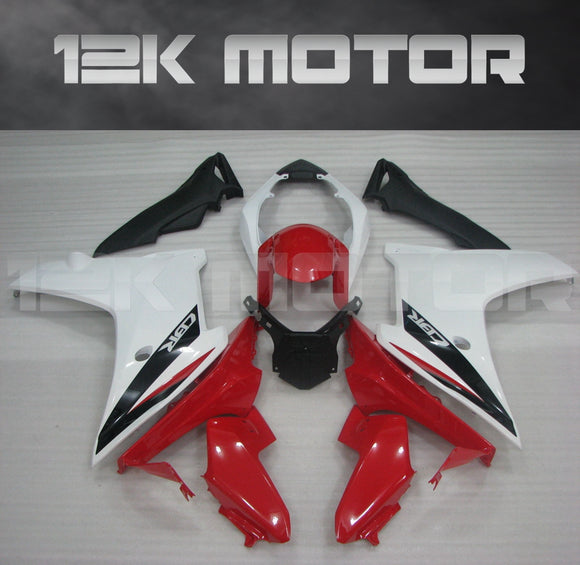 White Red Fairing Fit for HONDA CBR600F 2011-2013 Aftermarket Fairing Kit
