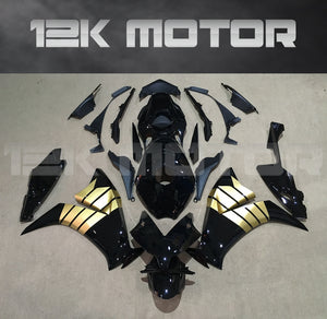 Black and Gold Fairing Fit for HONDA CBR1000RR 2012 2013 2014 2015 2016 Aftermarket Fairing Kit