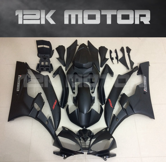 R6 2006 2007 Matt Black Fairing