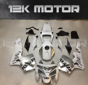 Silver White Fairing Kits Fit for HONDA CBR600RR 2005 2006 Aftermarket Fairing Kit